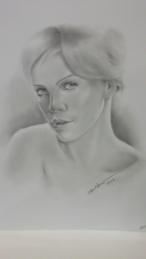 Charlize Theron by Bobchew